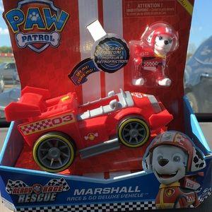 Paw Patrol Marshall race n go vehicle
